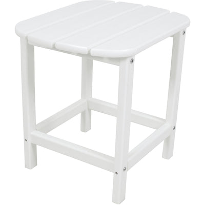 "Hanover All-Weather 18"" Side Table - HVSBT18WH - White"