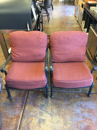 HANAMINT CLUB CHAIR SET 056310 + 694107