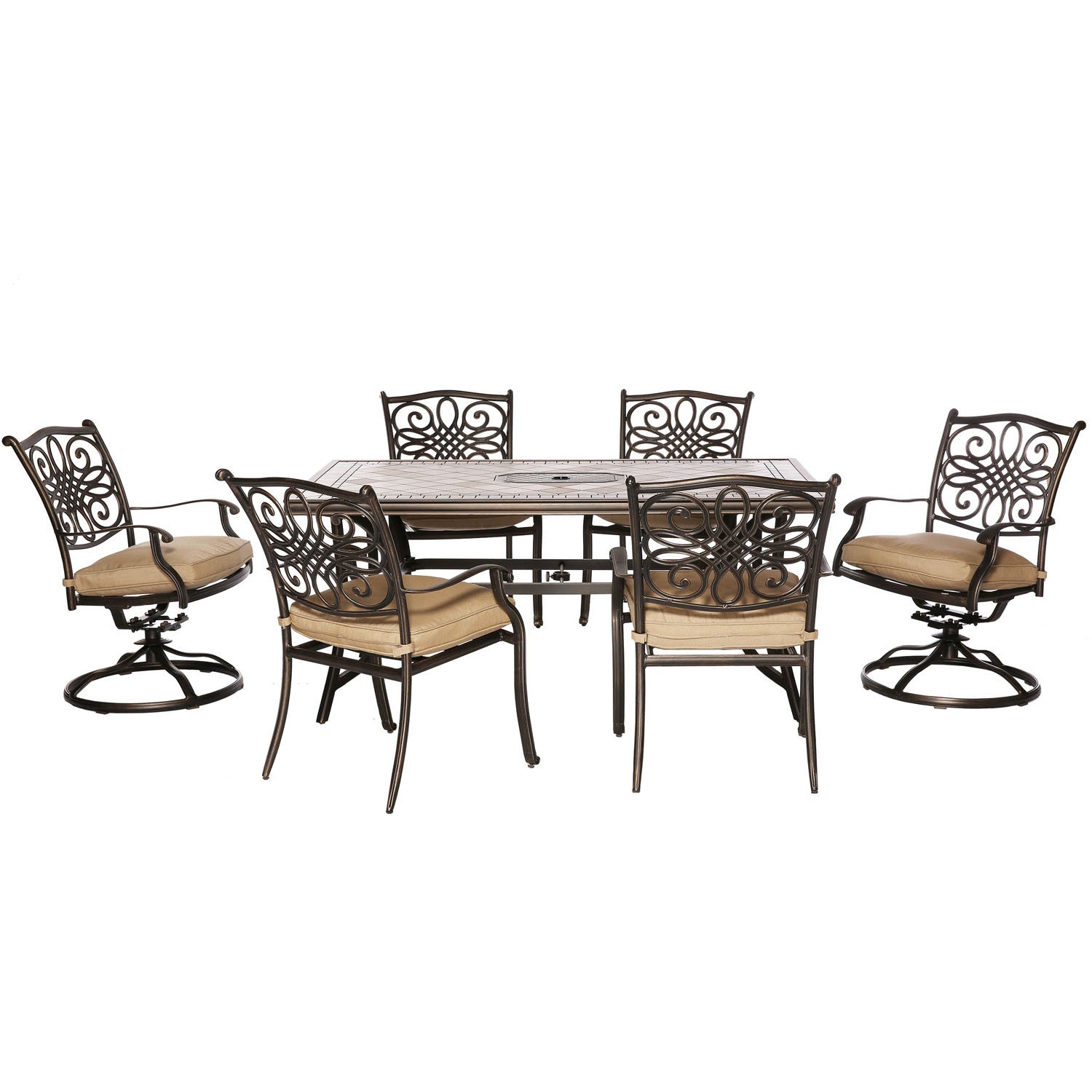 4 dining chairs leather monaco7pc dining set 40x68