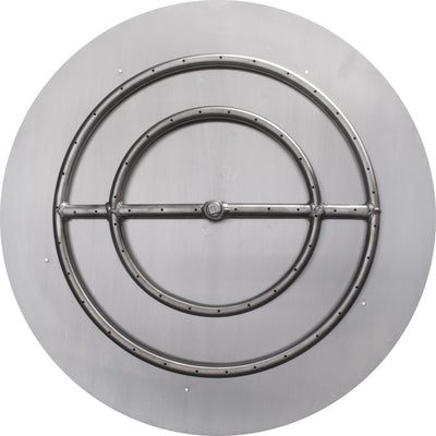 The Outdoor Plus Round Flat Pan & Round Burner LC Certified