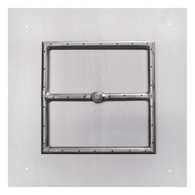 The Outdoor Plus Square Flat Pan & Square Burner LC Certified