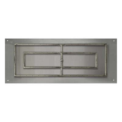 The Outdoor Plus Rectangular Flat Pan & Rectangular Burner LC Certified