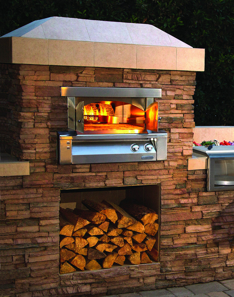 Alfresco Pizza Oven-Built in Application