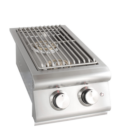 BLAZE DOUBLE SIDE BURNER W/ LIGHTS