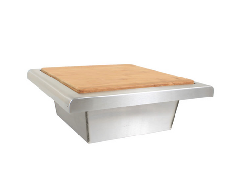 BLAZE TRASH CHUTE WITH CUTTING BOARD