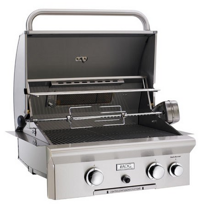 AOG Built-In Grill, T-Series - Natural Gas / Liquid Propane
