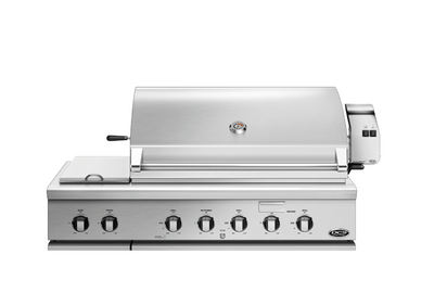 "DCS Series 7 Heritage 48"" Built-in Grill with integrated Side Burners"