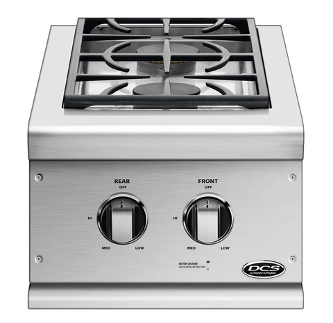 DCS BGC Double Built-In Side Burner
