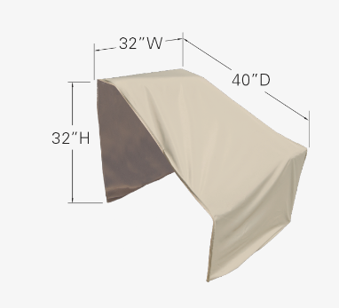 Modular Protective Furniture Cover - Left End Sectional (Right Facing)