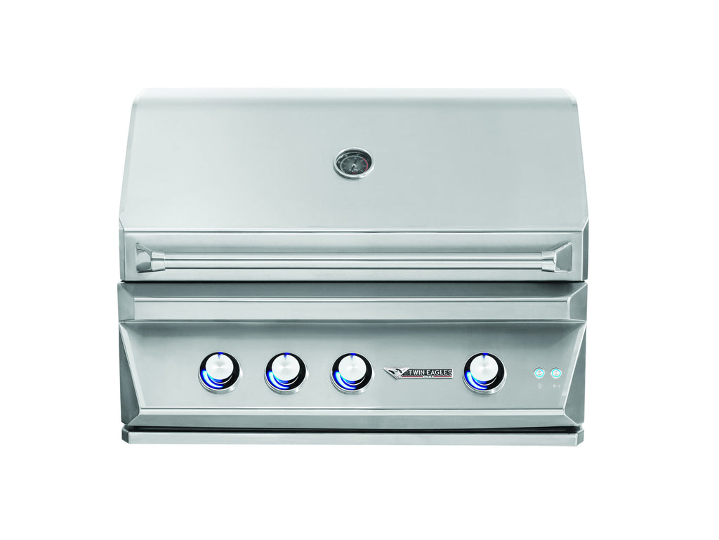 "Twin Eagles 36"" Built In Grill W/Rotisserie"