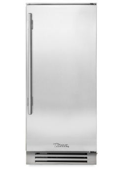 "True 15"" Clear Ice Machine Stainless Steel Door, Left Hinge"