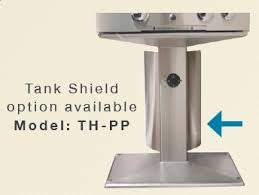 AOG Tank Shield For Patio Post Grill