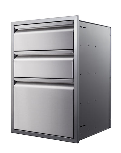 "21"" Triple-Stack Access Drawers"
