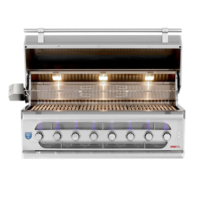 "American Made Grills - Muscle - 54"" Hybrid Built-In Grill"