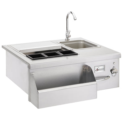 Summerset  Lighted Beverage Center w/Sink