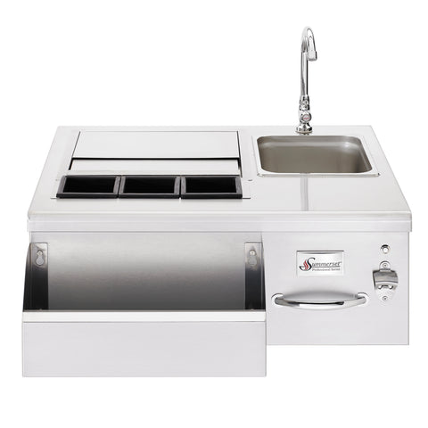 Summerset  Beverage Center w/Sink and Led Lights