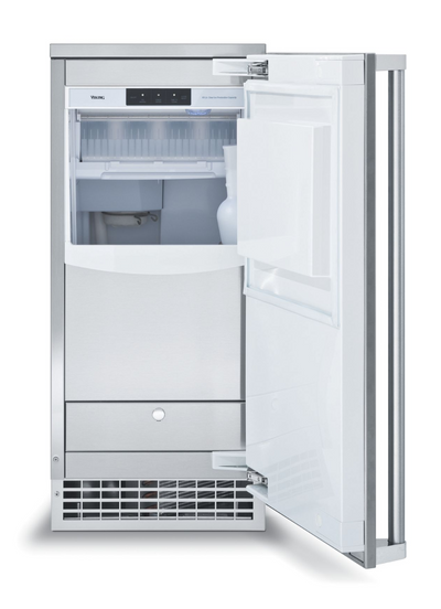 "Viking 15"" Outdoor Clear Ice Machine with Drain Pump"