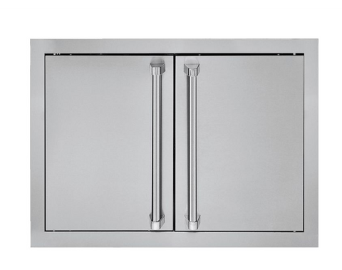 "Viking Outdoor 5 Series 28"" Stainless Steel Double Access Door"