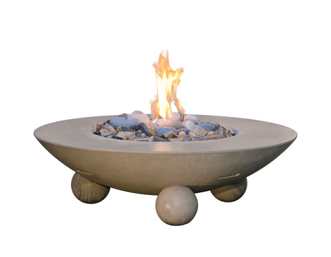 Versailles Firetable W/Ball Feet W/AWEIS Ignition System- 744-xx-11-F6xc