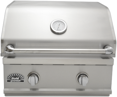 "SO261BQTR 26"" Stainless Steel Luxury TR Grill, Built-in"