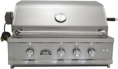 "SO301BQRRL 30"" Luxury Grill w/Rotis & LED Lights, Built-in"