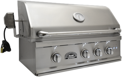 "SO321BQRTRL 32"" Luxury TR Grill with Rotisserie & LED Lights, Built-in"