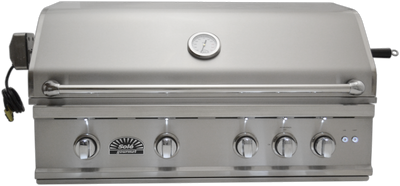 "SO381BQRTRL 38"" Luxury TR Grill with Rotisserie & LED Lights, Built-in"