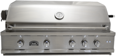 "SO421BQRL 42"" Luxury Grill w/Rotis & LED Lights, Built-in"