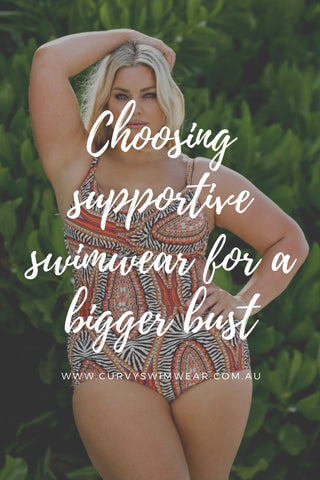 swimwear for a bigger bust