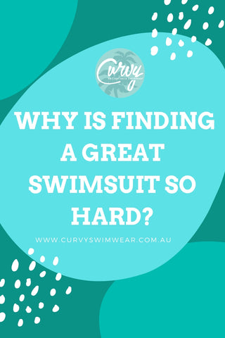 Plus Size Swimwear – Why is finding a great swimsuit so hard?