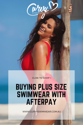 Buying Plus Size Swimwear with Afterpay