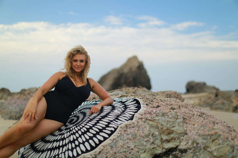Curvy Swimwear and The Beach People Roundie Towel