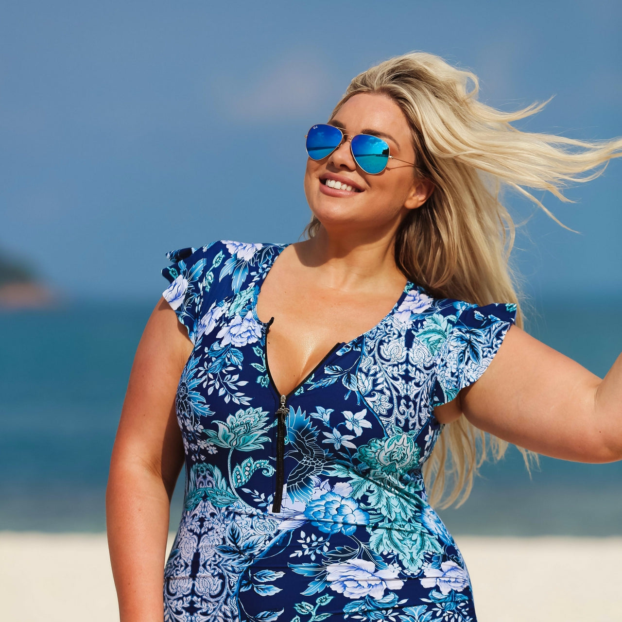 Plus Size Swimwear Ladies Swimsuits