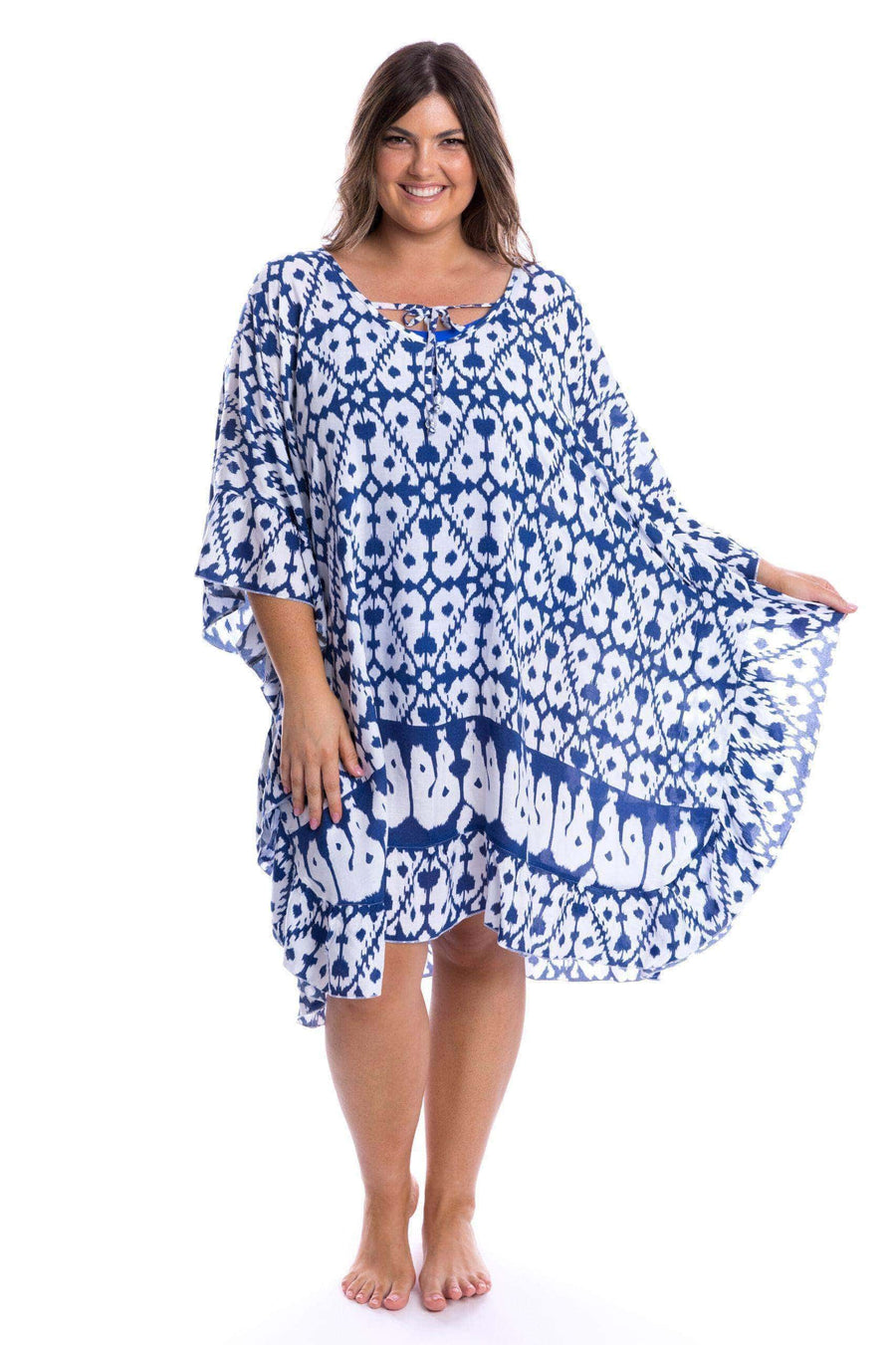 Full Moon Kaftan Navy