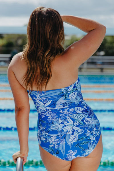 Hawaii Blue | Best Bandeau Swimsuit