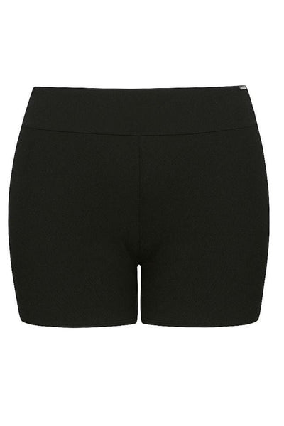 Plain Black Boyleg Pant