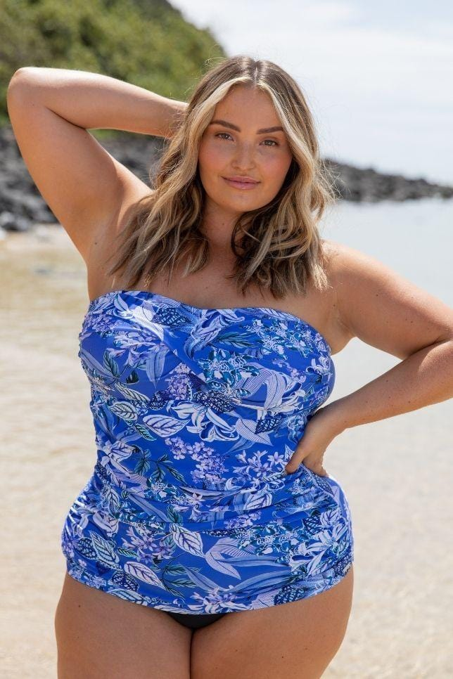 plus size tankini with built in bra