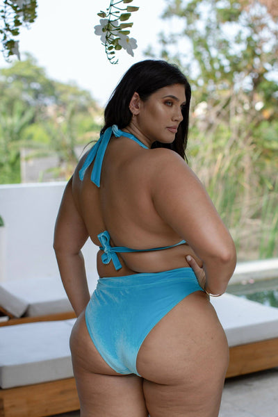 Velvet Aqua | Triangl Swimwear on Curvy