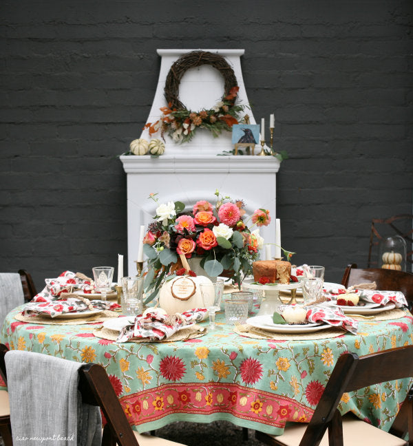A Beautiful Autumn Tea Party Part One
