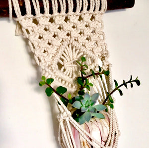 "Are you ""knotty-natured""? A Girls Night Out! Beginning Macrame Workshop."