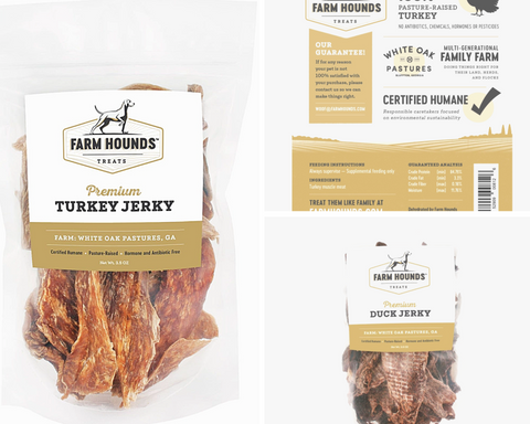 Dog jerky available at Seaside Gallery & Goods