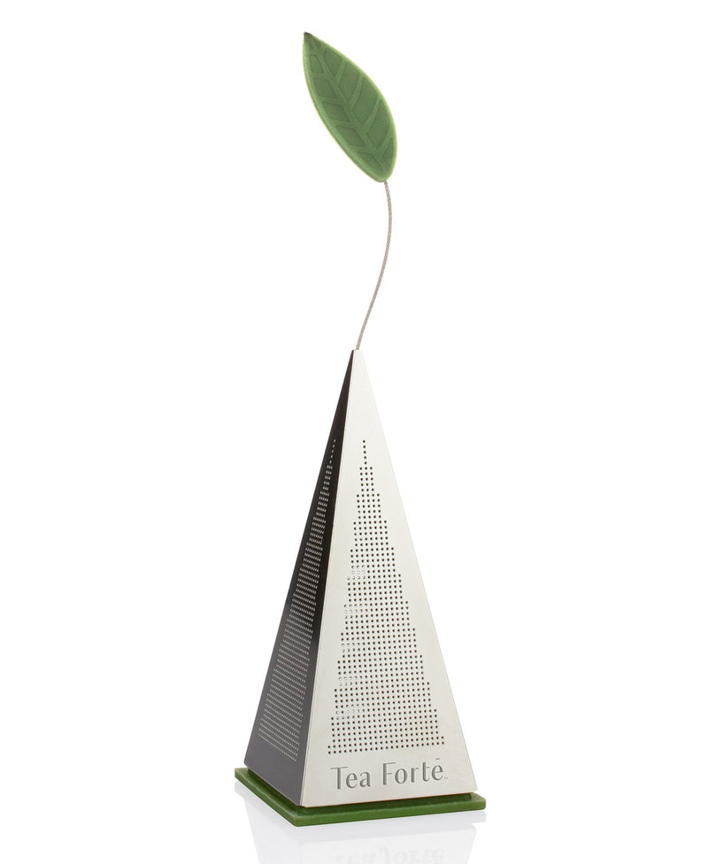 WS-ICON Loose Tea Infuser Silver