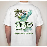 -NPB Tee - 3Thirty3  - Newport Beach T Shirt in White, by Rick Rietveld