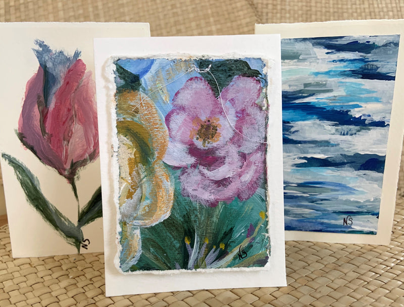 NS Hand Painted Cards Sm