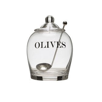NS Olive Jar with lid