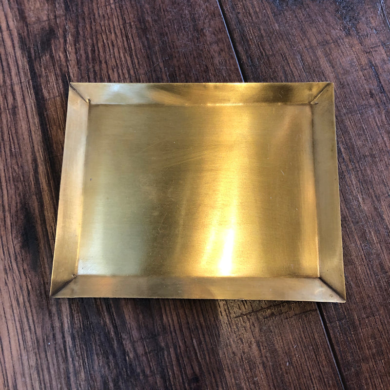 TL-A FLW Brass Rectangle Plate