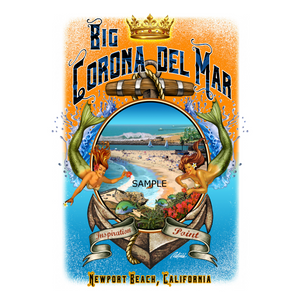 NPB - Big Corona Canvas Art 8X12-Rick Rietveld