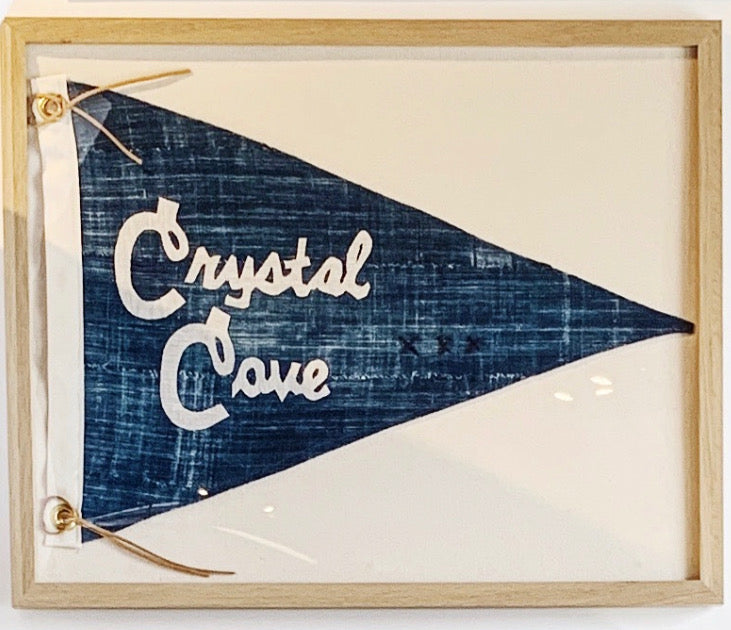 BB - 16x20 CRYSTAL COVE Pennant