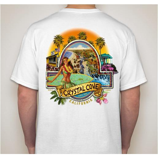 The Islands Newport Beach T Shirt Designed exclusively for us by Rick Rietveld
