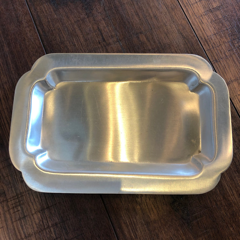 TL-A FLW Silver Plate Dish